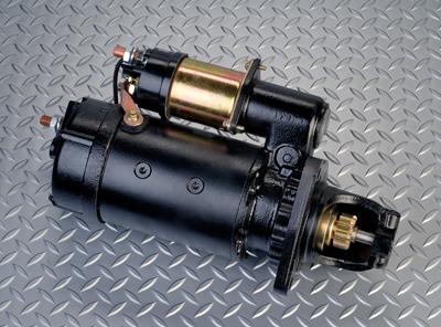Heavy duty starter 37MT 12 volt Delco. Remanufactured by Pro Rebuilders.